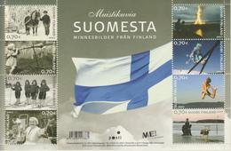 Finlandia 2007  Yvert Tellier  1836/43 MH Souvenir De Finlandia/Mini Hoja ** - Finlande