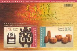 Finlandia 2007  Yvert Tellier  1844/45 Artesania En Madera / Hb 45 ** - Unused Stamps
