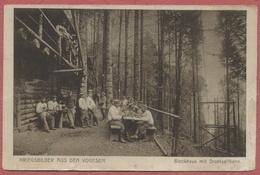 """La Guerre De 1914-18 Dans Les Vosges : """" Drahtseilbahn """" Téléphérique Militaire Allemand Et Blockhaus - Chaume De Lusse - Sainte-Marie-aux-Mines"""