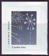 Finlandia 2008  Yvert Tellier  1899 Fuegos Artificiales/sello Personalizado ** - Unused Stamps