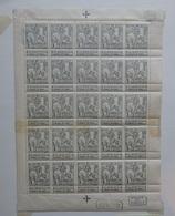 BELGIE   1911  Caritas  F 84   Met 15 Zegels Postfris ** + 10 Zegels Met Scharnier *     CW 85,00 - 1910-1911 Caritas
