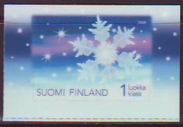Finlandia 2008  Yvert Tellier  1906 Navidad/1ª Clase/adorno ** - Unused Stamps