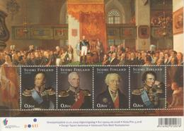 Finlandia 2009  Yvert Tellier  1908/11MH Bicentenario Grandes Duques-mini Hoja - Unused Stamps