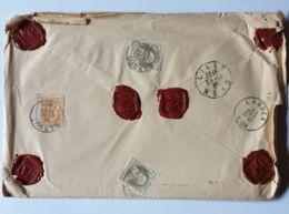 """Lettre  """" ASSURÉ """" 1660 Fr-   HANNUT  21/12/1909  - LILLE - LANDEN - Autres"""