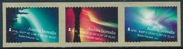 Finlandia 2009  Yvert Tellier  1959/61 Aurora Boreal (3s) Adh.de Rollo ** - Unused Stamps