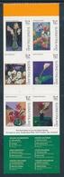 Finlandia 2009  Yvert Tellier  1952/56  Arte Floral II/adh.de Carnet ** - Unused Stamps