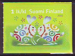Finlandia 2010  Yvert Tellier  1979 Pascua 2010 ** - Finland