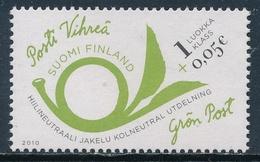 Finlandia 2010  Yvert Tellier  2001 Correo Verde (1class+0,05) ** - Finlande