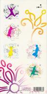 Finlandia 2010  Yvert Tellier  2002/06 MH Sellos Para Mensajes (5v) Mini Hoja * - Finland