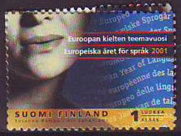 Finlandia 2001  Yvert Tellier  1520 Lenguaje  ** - Finland