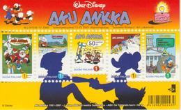 Finlandia 2001  Yvert Tellier  1521/25 Hb 25 Series Infantiles  ** - Unused Stamps
