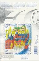 Finlandia 2001  Yvert Tellier  1528/31 Hb 26 Patrimonio  ** - Unused Stamps