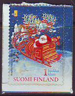 Finlandia 2001  Yvert Tellier  1533 Papa Noel  ** - Finland