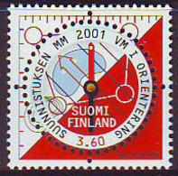 Finlandia 2001  Yvert Tellier  1542 Campeonado De Orientacion  ** - Finland