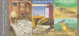 Finlandia 2001  Yvert Tellier  1543/47 Navegacion  ** - Unused Stamps