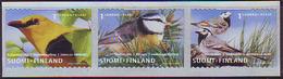 Finlandia 2001  Yvert Tellier  1548/50 Pajaros  ** - Unused Stamps