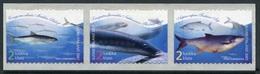 Finlandia 2001  Yvert Tellier  1551/53 Peces  ** - Unused Stamps