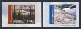 Finlandia 2002  Yvert Tellier  1563/64 Paisajes  ** - Unused Stamps