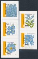 Finlandia 2002  Yvert Tellier  1565/69 Flores Nacionales  ** - Finland
