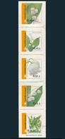 Finlandia 2002  Yvert Tellier  1570/74 Flores Basicas ** - Unused Stamps
