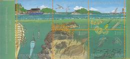 Finlandia 2002  Yvert Tellier  1584/88 Golfo Finlandia ** - Unused Stamps