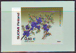 Finlandia 2002  Yvert Tellier  1591 Flor ** - Unused Stamps