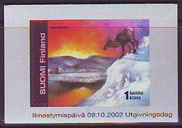 Finlandia 2002  Yvert Tellier  1592 La Laponia ** - Finlande