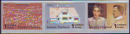 Finlandia 2004  Yvert Tellier  1646/48 Jean Sibelius  1Kl  (3s) ** - Unused Stamps