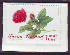 Finlandia 2004  Yvert Tellier  1663 Flor Rosa ** - Finlandia