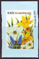 Finlandia 2004  Yvert Tellier  1666 Pascua  - Flor ** - Finland