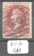EUA Scott 166 YT 49 # - 1847-99 General Issues