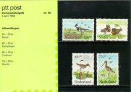1984 Zomer - Birds - Mapje 018 - NVPH 1301-1304 Postfris/MNH/** - 1980-... (Beatrix)