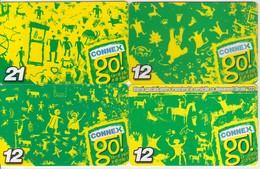 Romania Connex Go 4 Cards - Romania