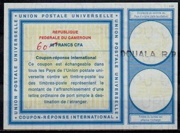 CAMEROUN / CAMEROON Vi1960 /40 FRANCS CFA International Reply Coupon Reponse Antwortschein IAS IRC O DOUALA R.P. - Kamerun (1960-...)