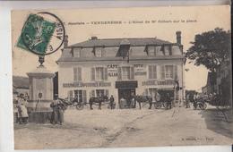 02 Vendresse L Hotel De M Gilbert Sur La Place   Belle Animation - Other Municipalities