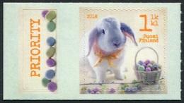 Finlandia 2016  Yvert Tellier  2402 Pascuas - Conejo ** - Unused Stamps