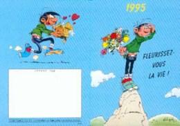 GASTON LAGAFFE : Calendrier DALIX 1995 (1) - Franquin