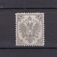 Bosnien-Herzegowina - Österreichische Besetzung - 1879 - Michel Nr. 1 I D - Gez. 13 - 40 Euro - Bosnia And Herzegovina