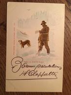CPA, Hospice Du Grand ST.Bernard, Illustration, éd  Comptoir De Phototypie, Neuchatel,écrite En 1899, Timbre, Bon état - VS Valais
