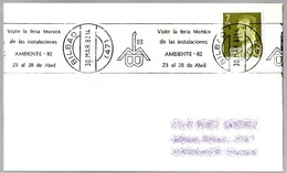 FERIA TECNICA DE LAS INSTALACIONES AMBIENTE-82. Bilbao, Pais Vasco, 1982 - Fábricas Y Industrias