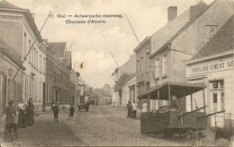 NIEL - Antwerpsche Steenweg - Portland Cement - Prachtige Animatie Met Hondenkar - Uitg. Gezusters Van Dessel - Niel
