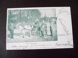 Duisburg Gruss Aus Meiderich ? Ziegenpost 1899 - Duisburg