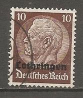 ALSACE-LORRAINE  Yv. N° 29  (o)   10c  Lothringen   Cote 0,8 Euro   2 Scans - Elsass-Lothringen