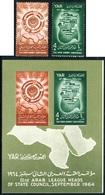 VAR1 Yemen Rep. Nº 93/94 + HB 19   1964   MNH - Timbres