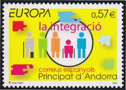 Andorra Español 323 2006 Europa La Integración MNH - Sellos