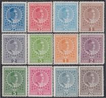 Montenegro 100/11 1910  Lotto Re Nicola I MH - Sellos