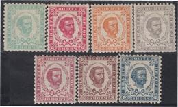 Montenegro 42/48 King Nicolai MH - Sellos