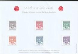 Maroc. Bloc Feuillet De 6 Timbres 2019. Inauguration Du Musée De Barid Al Maghrib. Reproduction Des Timbres 1-6 De 1912. - Marruecos (1956-...)