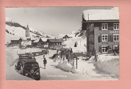 OLD POSTCARD -    AUSTRIA - LECH - GASTHOF - AUTO - VOLK SWAGEN - Lech