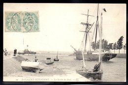 SAINT VALERY SUR SOMME 80 - La Sortie Du Port - #B169 - Saint Valery Sur Somme